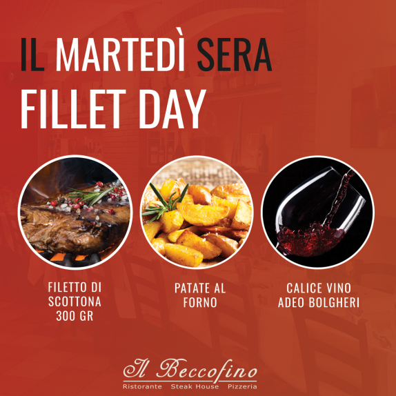 Serata del filetto: Fillet Day